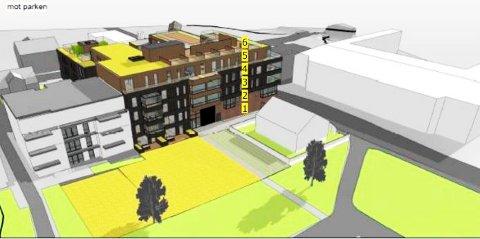 Sameiet Park Terrasse mener det egentlig er lagt opp til flere etasjer og høyere byggehøyde enn vedtatt, når margarinfabrikktomta bygges ut. Fylkesmannen avvist klagen.