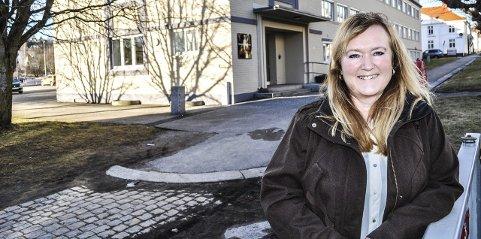 Leder for barnevernstjenesten i Halden kommune, Wanja Brattli, ønsker seg flere ansatte og større lokaler. Arkivfoto.