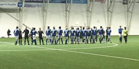 Juniorlaget og seniorlaget til  MIL spilte tre kamper hver på tre dager i SKS Arena på Fauske.