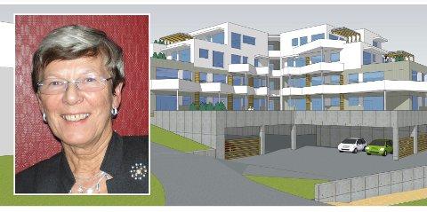 ETTERLENGTA: Går alt etter planen får Bonord realisert Heimenjorda leilighetskompleks på Borkenes i løpet av 2022. – Dette er så spennende og etterlengta, sier pågangsdriver Lillian Hessen.