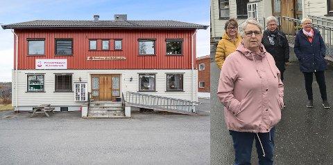 SELGERIKKEFORENHVERPRIS:Kari Quille (t.v.), Aud Johansen, Eva Eklund og Britt Killingmo i Aurskog Sanitetsforening.