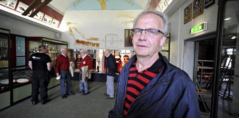 Leder styret: Birger Steen i Kongsberg skimuseums venner sier at situasjonen er den samme og at ingen vil sitte i styret.