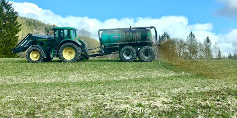Ikke enighet: Det er blitt brudd i jordbruksforhandlingene i dag.