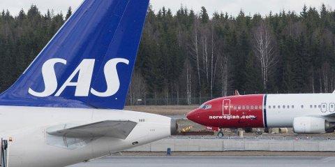 FORSVARS-KONRAKT: SAS har vunnet en stor kontrakt med Forsvaret om flyreiser. Norwegian har hatt kontrakten siden 2008.