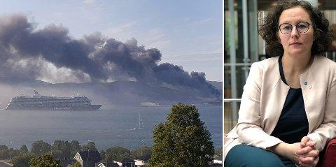 Fredag brøt det er storbrann nord på Tromsøya og giftlig røyk spredte seg raskt. Men langt fra alle fikk SMS-varsling om å holde seg innendørs.
