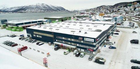HØY VERDI: Byggene i Terminalgata kan gi leieinntekter på ni millioner i året.