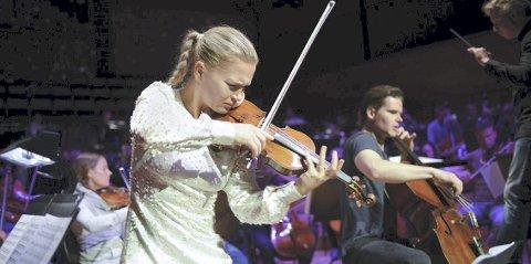 Kommer: Mari Silje og Håkon Samuelsen skal underholde på RingsakerGallaen.Foto: Emile Ashley
