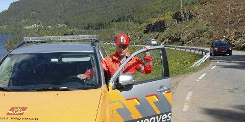 Aldri opplevd maken: Prosjektleder Odd Helge Innerdal opplever rekordinteresse for oppdraget med riksvei 70 mellom Tingvoll og Meisingset skal utbedres.
