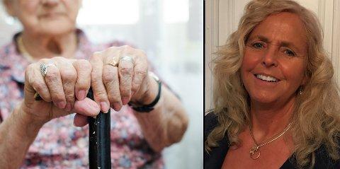MÅ GJØRE NOE: Jeg, og mange med meg, er redd for ensomhet, sykdom, ikke å klare seg selv, sykehjem, inaktivitet – kort sagt: å bli gammel, skriver Anne-May Hogsnes.