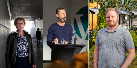 Sentrale politikere i Vestby kommune enes om én ting; Hollænderseilasen hører hjemme i Son. (F.v.) Tone Skretting (Senterpartiet), Arjo van Genderen (Venstre) og Kenneth Lien Steen (Fremskrittspartiet).