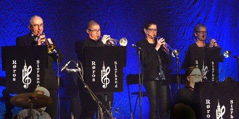 Storbandets trompetrekke.