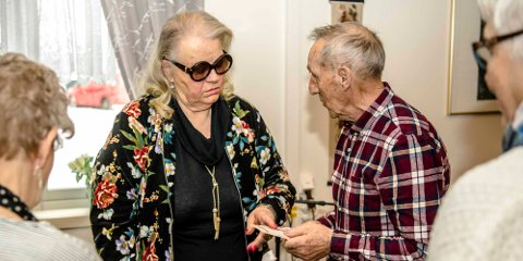Egil Ekeberg fikk gode råd av Inger Johanne Henriksen Serrano om søvnproblemer.