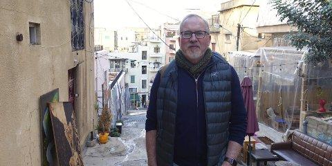 Beirut: Ordfører Per Kristian Lunden har sammen med styret i organisasjonen Mimeta besøkt Libanon i desember.