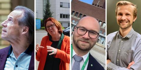 Jan Bøhler, Bjørg Sandkjær, Morten Edvardsen og Espen Thygesen har blitt spilt inn som kandidater til å jobbe i regjeringen.