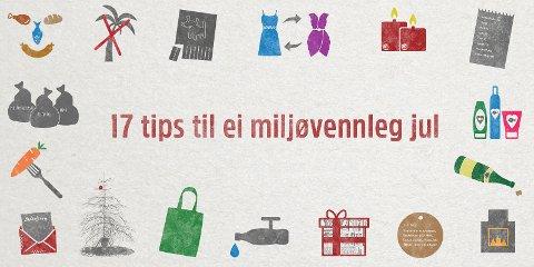 NGIR gjer deg smarte tips til ein miljøvennleg jul.