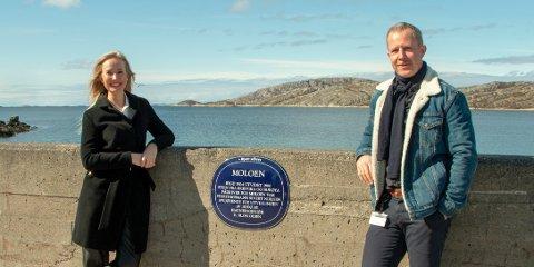 Kristine Engan Imingen og Gøran Raade-Andersem vil ha deg ut på tur i hele Bodø.