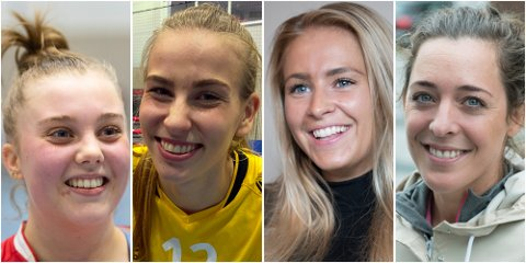 Christine Karlsen Alver, Sofie Ege Grønlund, Madeleine Hilby og Linn Gossé har alle én ting til felles: De tror Norge tar EM-gullet.