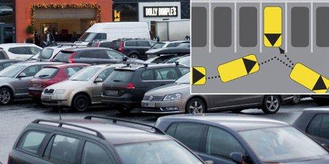 MYE: Forsikringsselskapene får årlig inn nesten 90.000 meldinger om bulkeskader på parkeringsplasser.