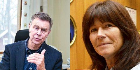Bent Inge Bye og Ann Sire Fjerdingstad.