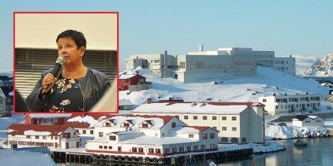 Eli Skille (innfelt) er rektor ved Nordkapp VGS.