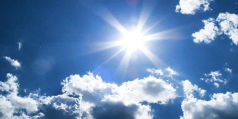 MYKJE SOL: Det blir ei solrik helg, og det er ikkje meldt nedbør fram til neste helg, seier langtidsvarselet for Sunnfjord.