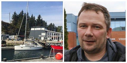 NY EIGAR: Jan-Tore Gravdal driv Værlandet gjestehamn, i lag med Freddy Ulltang og Tor Erik Ulltang.