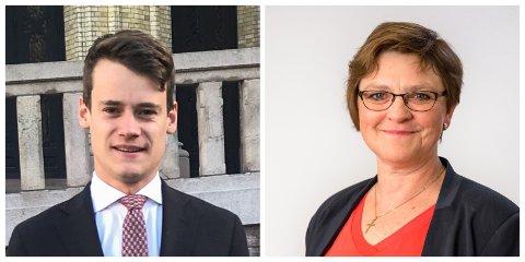 HELD SEG TIL KRF: Trude Brosvik og Tore Storehaug let seg ikkje føre ut i freisting av det nye partiet.