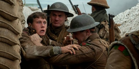 I KRIG: George MacKay (t.v.) spiller soldaten Schofield i den nye storfilmen «1917».