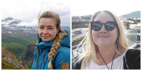 Ansatt: Julie Arntsen (til venstre) og Silja Björklund Einarsdóttir er ansatt som journalist/frontredigerer fra og med januar 2019.