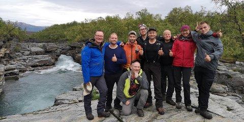 Flere ønsker å delta på neste års Exit-tur fra Nordalen til Abisko. – Jeg blir med også neste år. Det er gull verdt den følelsen du får frem når du har fullført. Du blir sterkere både fysisk og psykisk, sier Kim Marius Haldorsen.