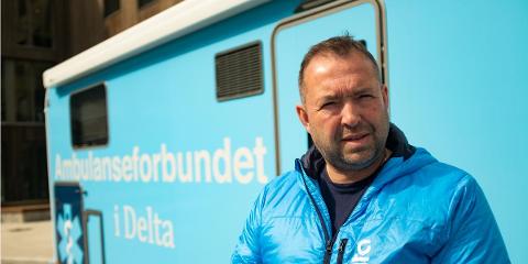 UENIG: – I denne saken er det helt åpenbart hvem som er den mest skikkede til stillingen, og det er han med 20 års erfaring, sier leder av ambulanseforbundet, Ola Yttre.