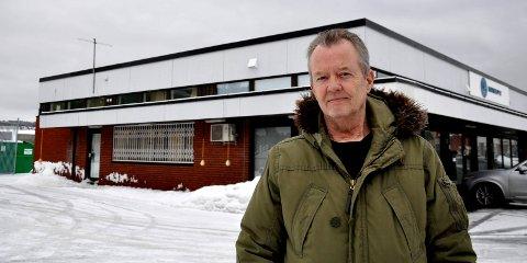 AVVENTENDE: Jan Heimstad, Marin Supply vil ikke stille seg i veien for utvikling av Bromsjordet, men minner om at det vil  koste dyrt å flytte bedriften til Skoppum.