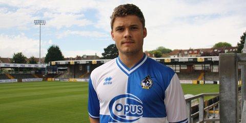 For et par uker siden ble Rogvi Baldvinsson presentert som Bristol Rovers-spiller.