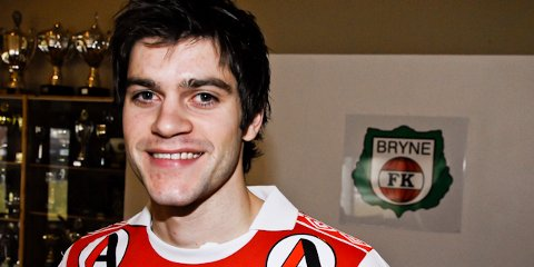 Bryne-spiller Marius Helle er ønsket av Sandnes Ulf.