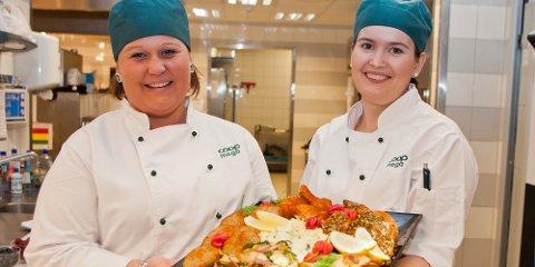 Monica Mønnich og Solfrid Kyllingstad har mange gode forslag til hva du kan legge på grillen eller i tursekken i påsken.
