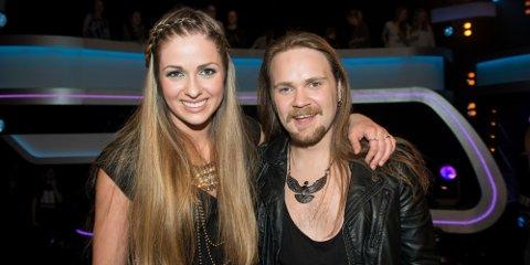 Siri og Eirik synger tre låter hver i finalen på fredag.