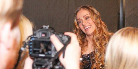 Siri Vølstad Jensen fikk 55 prosent av stemmene under Idol-finalen forrige fredag.