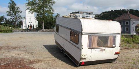 campingvogn kirketomt