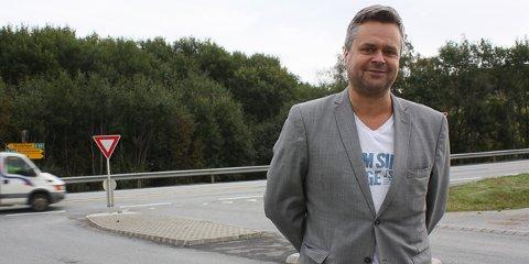 Espen Aaserud Karlsen er ny daglig leder for ålgårdsbedriften Gapo.