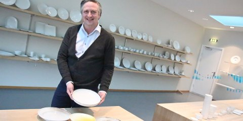 Simmer Vikeså forteller om gode tilbakemeldinger på de nye produktene.