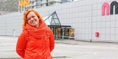 Senterleder for Amfi, Turid Larsen Skjæveland, mener det ikke er ofte handelsstanden på Ålgård har sjansen til å få så mange tilreisende som kunder, som under landsskytterstevnet.