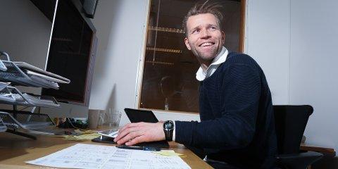 Redaktør Eugen Hammer kan slå i bordet med at 85 prosent av leserne av avisa har opprettet digital bruker.