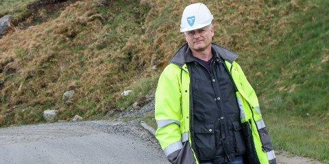 Prosjektleder Sven Olav Jensen bekrefter at tunnelen gjennom Husafjell blir utsatt opptil halvannet år (arkivfoto: Bjarte Espedokken).