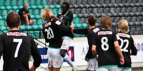 Endelig kunne Ålgård-spillerne juble.