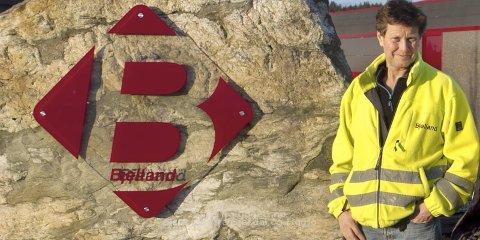 Daglig leder Ole Bjelland i Bjelland as har sikret seg oppdraget med å bygge firefeltsvei i Sømmevågen.