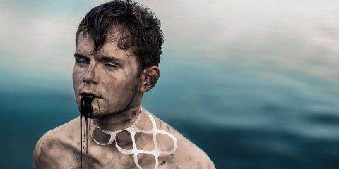 Cato Osaland vant NM-gull med «21 days of Pollution». Bildet er et sjølportrett.