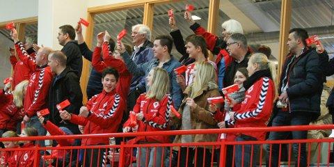 Ålgård har lenge hatt en lojal fanskare. Dette bildet er fra 2013. Nå har Fygarene organisert seg som foretak.