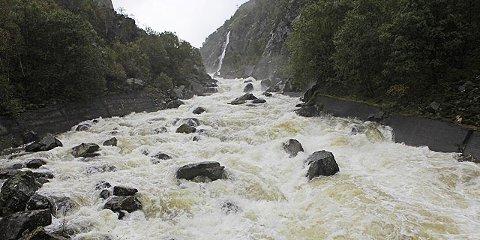 Mye vann i Giljajuvet