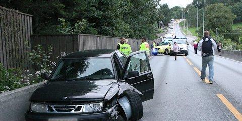 bilulykke e39 figgjo trafikkulykke