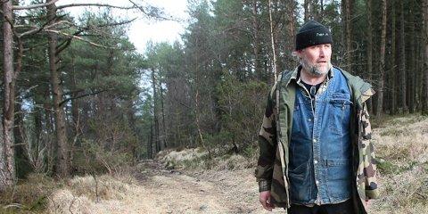 Dag Tveit har vært pådriver for at kommunen måtte sikre seg Neseskogen.